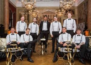 luxury Wedding catering staff london